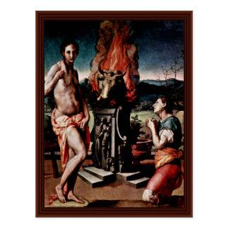 Pygmalion And Galatea,  By Birth Name Postcards