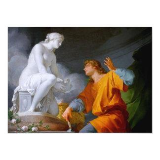 Pygmalión (Greek Mythology - Galathea) ~ 5.5x7.5 Paper Invitation Card