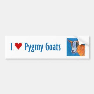 Pygmy Goat Bumper Sticker