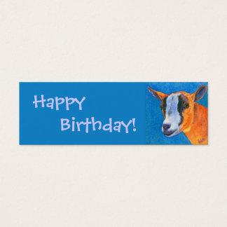 Pygmy Goat Gift Tag