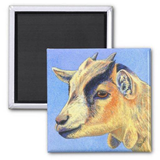 "Pygmy Goat Magnet - ""Sunny Goat"""