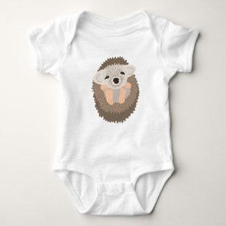 Pygmy Hedgehog is SO Cute! Baby Bodysuit