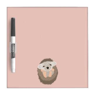 Pygmy Hedgehog is SO Cute! Dry Erase Board