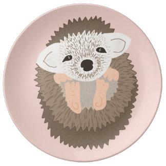 Pygmy Hedgehog is SO Cute! Porcelain Plate