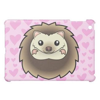 Pygmy Hedgehog Love (add a pern) iPad Mini Cover