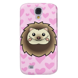 Pygmy Hedgehog Love (add your own background!) Galaxy S4 Cover
