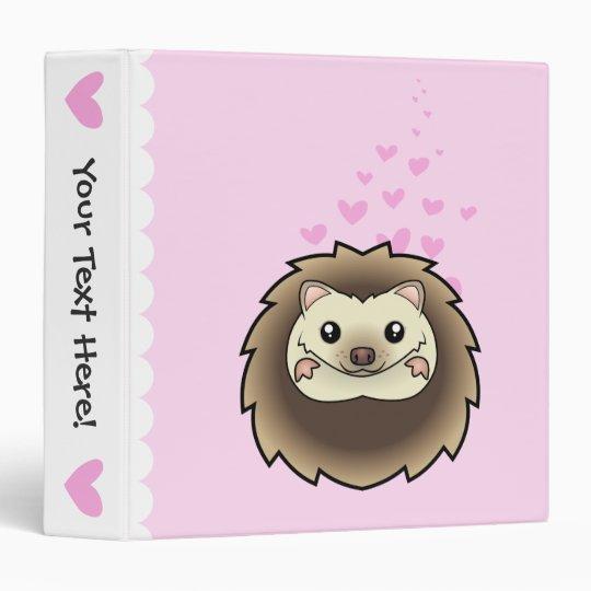 Pygmy Hedgehog Love Binder