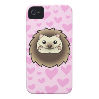 Pygmy Hedgehog Love iPhone 4 Cover