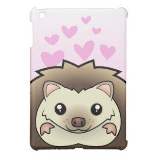 Pygmy Hedgehog Love iPad Mini Cover