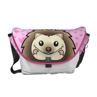 Pygmy Hedgehog Love Messenger Bag