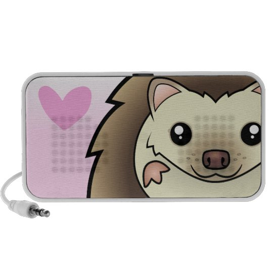 Pygmy Hedgehog Love Mini Speaker