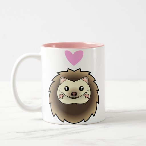 Pygmy Hedgehog Love Mug