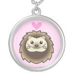 Pygmy Hedgehog Love Personalized Necklace