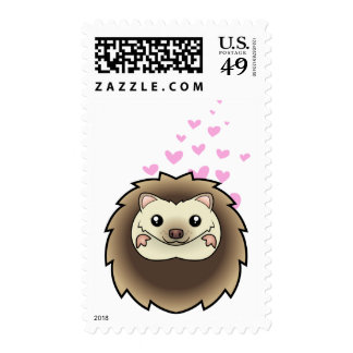 Pygmy Hedgehog Love Postage