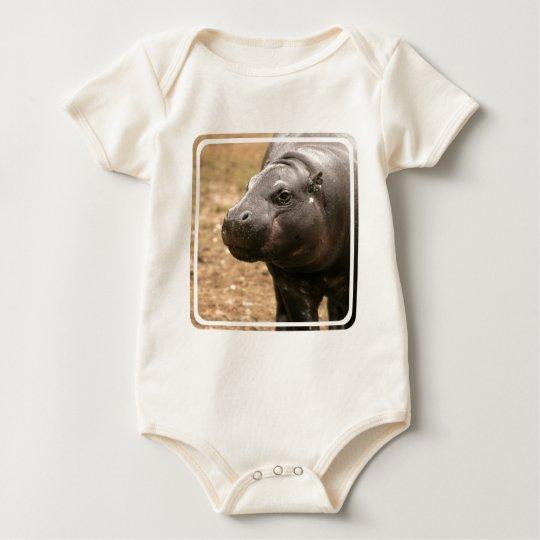 Pygmy Hippo Infant Baby Bodysuit