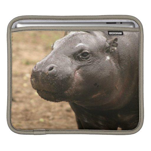 Pygmy Hippo  iPad Sleeve