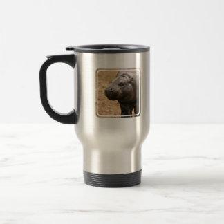 Pygmy Hippo Travel Mug