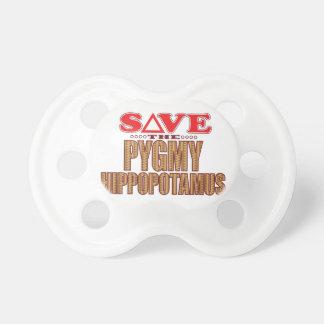 Pygmy Hippopotamus Save Pacifier