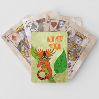 Pygmy Marmoset Bicycle Playing Cards