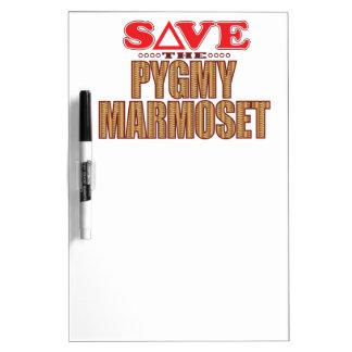 Pygmy Marmoset Save Dry-Erase Board