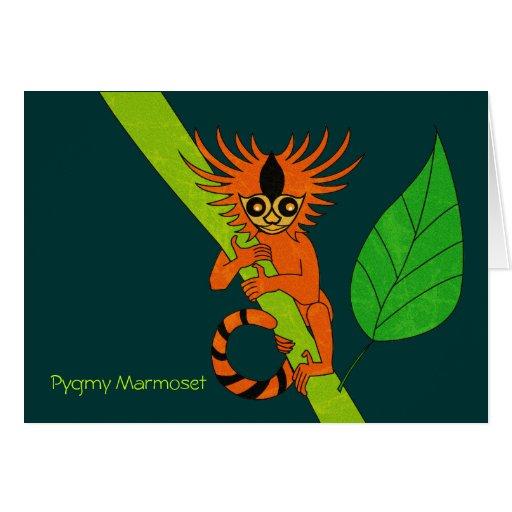 Pygmy Marmoset Tarjeta