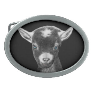 Pygora Goat Belt Buckle