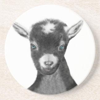 Pygora Goat Sandstone Coaster
