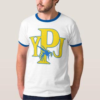 PYJ Ringer Logo T Tee Shirts