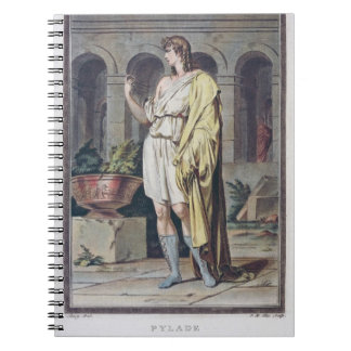Pylades, costume for 'Andromache' by Jean Racine, Notebook