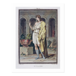 Pylades, costume for 'Andromache' by Jean Racine, Post Cards