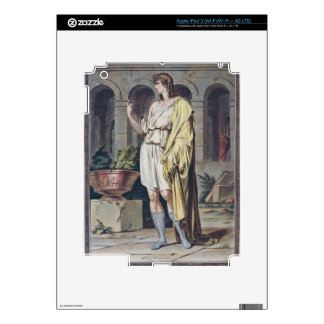 Pylades, costume for 'Andromache' by Jean Racine, Skins For iPad 3