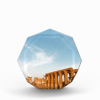 Pylon and Colonnade, Luxor Temple Acrylic Award