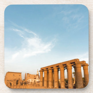 Pylon and Colonnade, Luxor Temple Beverage Coaster