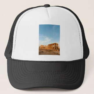 Pylon and Colonnade, Luxor Temple Trucker Hat