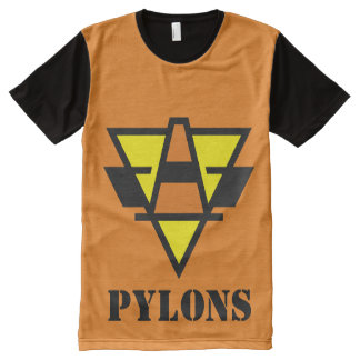 Pylon Power! All-Over-Print T-Shirt