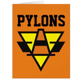 Pylons Card