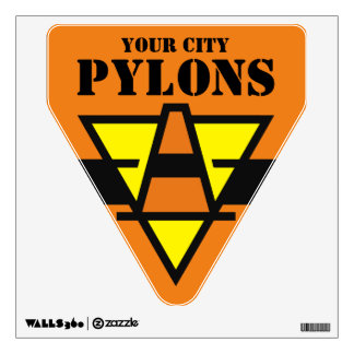 Pylons Wall Decal