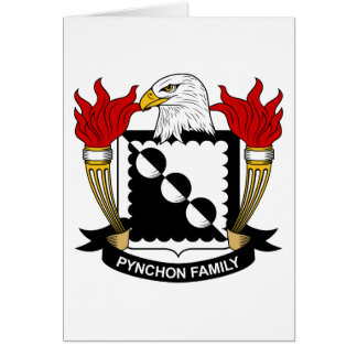 Pynchon Family Crest Greeting Card