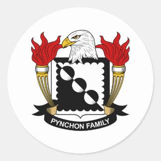 Pynchon Family Crest Sticker