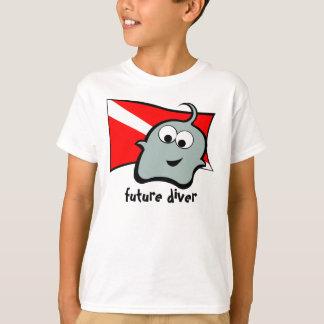 Pynkie Q Blue Future Diver T-Shirt