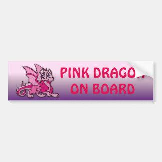 Pynky el dragón pegatina para auto