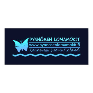 Pynnösen Lomamökit invitation - customize