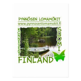 Pynnösen Lomamökit postcard - customize