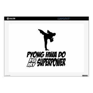 """Pyong Hwa Do Superpower Designs 17"""" Laptop Skin"""