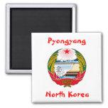 Pyongyang, Corea del Norte Imán De Frigorífico