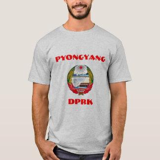 Pyongyang, North Korea, DPRK Coat of Arms. T-Shirt
