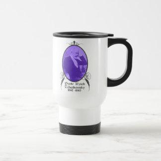 Pyotr Il'yich Tchaikovsky 15 Oz Stainless Steel Travel Mug