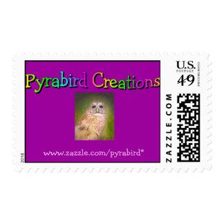 Pyrabird Creations Postage