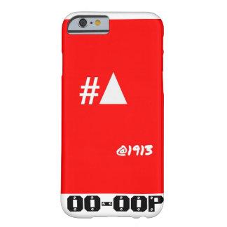 #Pyramid @1913 del caso del iPhone 6 de la theta Funda De iPhone 6 Barely There