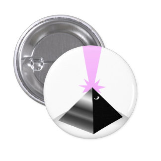 pyramid 1 inch round button